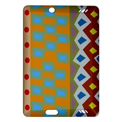 Abstract A Colorful Modern Illustration Amazon Kindle Fire HD (2013) Hardshell Case
