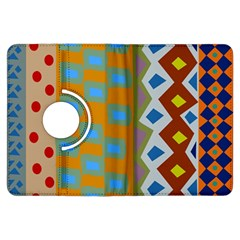 Abstract A Colorful Modern Illustration Kindle Fire HDX Flip 360 Case