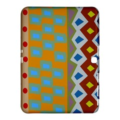 Abstract A Colorful Modern Illustration Samsung Galaxy Tab 4 (10.1 ) Hardshell Case