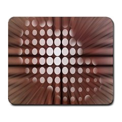 Technical Background With Circles And A Burst Of Color Large Mousepads