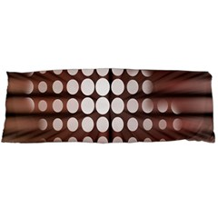 Technical Background With Circles And A Burst Of Color Body Pillow Case Dakimakura (Two Sides)