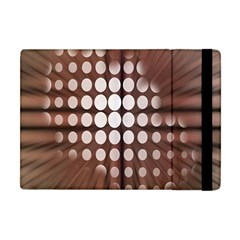 Technical Background With Circles And A Burst Of Color Apple Ipad Mini Flip Case