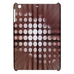 Technical Background With Circles And A Burst Of Color Apple iPad Mini Hardshell Case