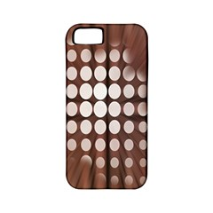Technical Background With Circles And A Burst Of Color Apple iPhone 5 Classic Hardshell Case (PC+Silicone)