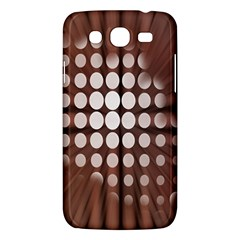 Technical Background With Circles And A Burst Of Color Samsung Galaxy Mega 5.8 I9152 Hardshell Case