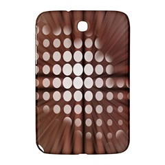 Technical Background With Circles And A Burst Of Color Samsung Galaxy Note 8.0 N5100 Hardshell Case