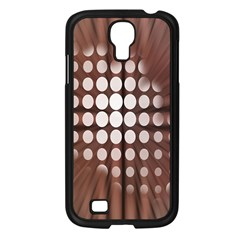 Technical Background With Circles And A Burst Of Color Samsung Galaxy S4 I9500/ I9505 Case (black)