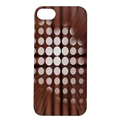 Technical Background With Circles And A Burst Of Color Apple iPhone 5S/ SE Hardshell Case