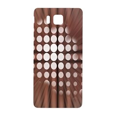 Technical Background With Circles And A Burst Of Color Samsung Galaxy Alpha Hardshell Back Case
