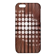 Technical Background With Circles And A Burst Of Color iPhone 6/6S TPU Case