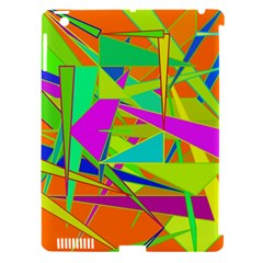 Background With Colorful Triangles Apple iPad 3/4 Hardshell Case (Compatible with Smart Cover)