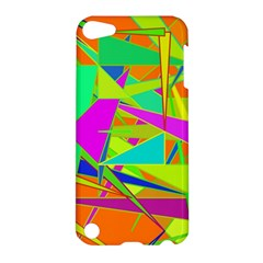 Background With Colorful Triangles Apple iPod Touch 5 Hardshell Case