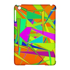 Background With Colorful Triangles Apple iPad Mini Hardshell Case (Compatible with Smart Cover)