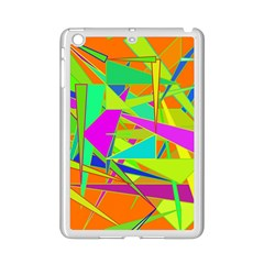 Background With Colorful Triangles Ipad Mini 2 Enamel Coated Cases