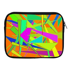 Background With Colorful Triangles Apple Ipad 2/3/4 Zipper Cases
