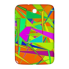 Background With Colorful Triangles Samsung Galaxy Note 8.0 N5100 Hardshell Case