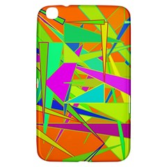 Background With Colorful Triangles Samsung Galaxy Tab 3 (8 ) T3100 Hardshell Case