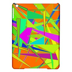 Background With Colorful Triangles iPad Air Hardshell Cases