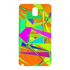 Background With Colorful Triangles Samsung Galaxy Note 3 N9005 Hardshell Back Case