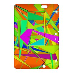 Background With Colorful Triangles Kindle Fire Hdx 8 9  Hardshell Case