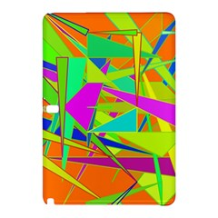 Background With Colorful Triangles Samsung Galaxy Tab Pro 10.1 Hardshell Case