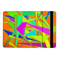 Background With Colorful Triangles Samsung Galaxy Tab Pro 10.1  Flip Case