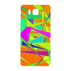 Background With Colorful Triangles Samsung Galaxy Alpha Hardshell Back Case
