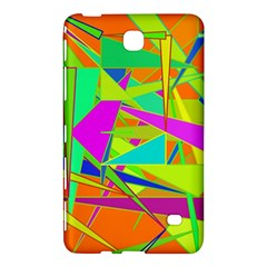 Background With Colorful Triangles Samsung Galaxy Tab 4 (7 ) Hardshell Case
