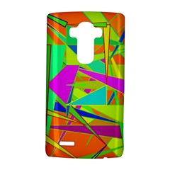 Background With Colorful Triangles Lg G4 Hardshell Case