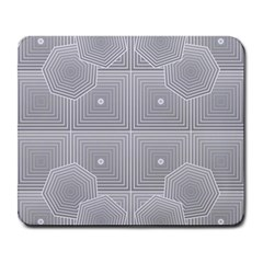 Grid Squares And Rectangles Mirror Images Colors Large Mousepads