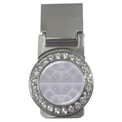 Grid Squares And Rectangles Mirror Images Colors Money Clips (cz)