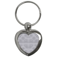 Grid Squares And Rectangles Mirror Images Colors Key Chains (Heart)