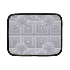 Grid Squares And Rectangles Mirror Images Colors Netbook Case (small)