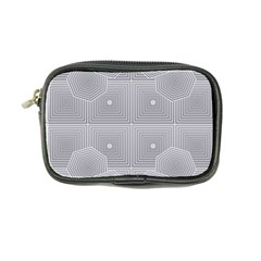Grid Squares And Rectangles Mirror Images Colors Coin Purse
