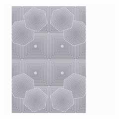 Grid Squares And Rectangles Mirror Images Colors Small Garden Flag (Two Sides)