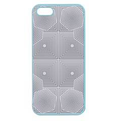 Grid Squares And Rectangles Mirror Images Colors Apple Seamless iPhone 5 Case (Color)