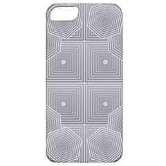 Grid Squares And Rectangles Mirror Images Colors Apple Iphone 5 Classic Hardshell Case