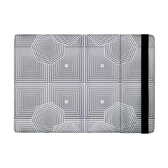 Grid Squares And Rectangles Mirror Images Colors Apple iPad Mini Flip Case