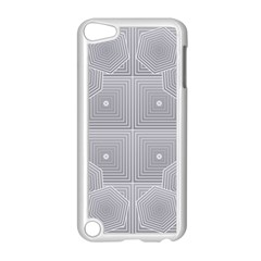 Grid Squares And Rectangles Mirror Images Colors Apple iPod Touch 5 Case (White)