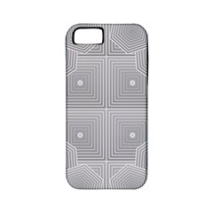 Grid Squares And Rectangles Mirror Images Colors Apple iPhone 5 Classic Hardshell Case (PC+Silicone)