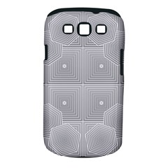 Grid Squares And Rectangles Mirror Images Colors Samsung Galaxy S III Classic Hardshell Case (PC+Silicone)