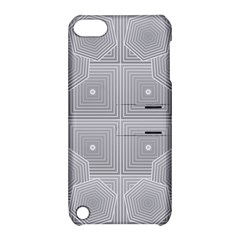 Grid Squares And Rectangles Mirror Images Colors Apple iPod Touch 5 Hardshell Case with Stand