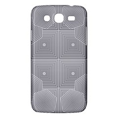 Grid Squares And Rectangles Mirror Images Colors Samsung Galaxy Mega 5.8 I9152 Hardshell Case