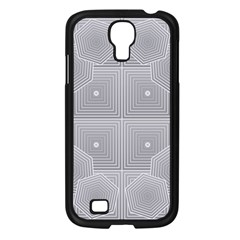 Grid Squares And Rectangles Mirror Images Colors Samsung Galaxy S4 I9500/ I9505 Case (black)