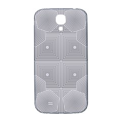 Grid Squares And Rectangles Mirror Images Colors Samsung Galaxy S4 I9500/i9505  Hardshell Back Case