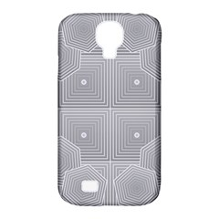 Grid Squares And Rectangles Mirror Images Colors Samsung Galaxy S4 Classic Hardshell Case (PC+Silicone)