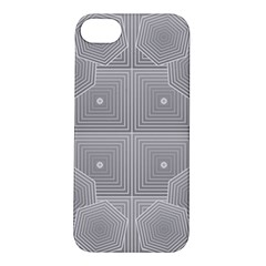Grid Squares And Rectangles Mirror Images Colors Apple iPhone 5S/ SE Hardshell Case