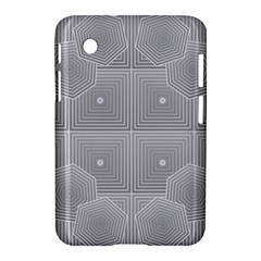 Grid Squares And Rectangles Mirror Images Colors Samsung Galaxy Tab 2 (7 ) P3100 Hardshell Case