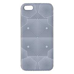 Grid Squares And Rectangles Mirror Images Colors iPhone 5S/ SE Premium Hardshell Case