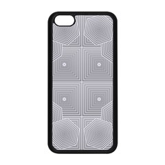 Grid Squares And Rectangles Mirror Images Colors Apple Iphone 5c Seamless Case (black)